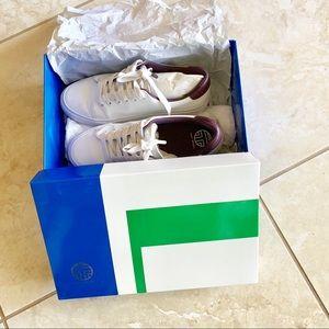 Tory Burch Shoes - TORY BURCH reflective sneaker